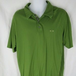 Oakley Mens Size XL Green Short Sleeve Shirt